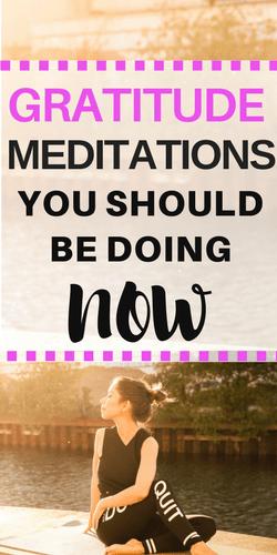 gratitude meditations