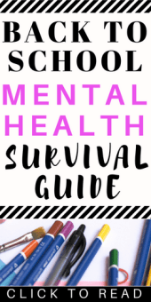 Mental Health Back to School Survival Guide