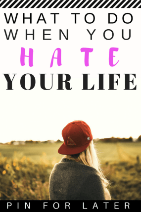 "Learn how I went from thinking ""I hate my life"" to being happy and blissful everyday and enjoying my life #selfimprovement #happiness #depression #mentalhealth"