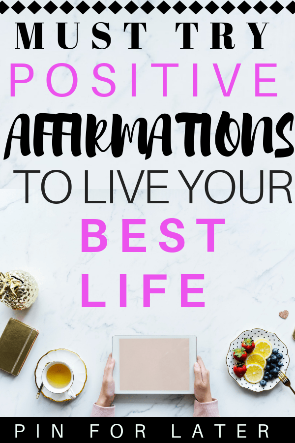 Daily affirmations to help manage mental health #affirmations #positvity #depression #anxiety