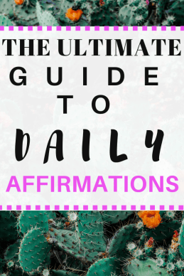 Check out this ultimate guide to daily affirmations #affirmations