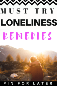 How To Cure Loneliness. Check out these tips and tricks for overcoming loneliness. #loneliness #mentalhealth #healthycoping
