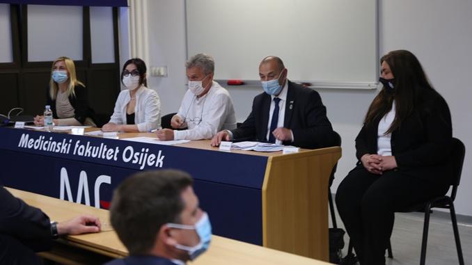 Identifikacija posmrtnih ostataka u Osijeku