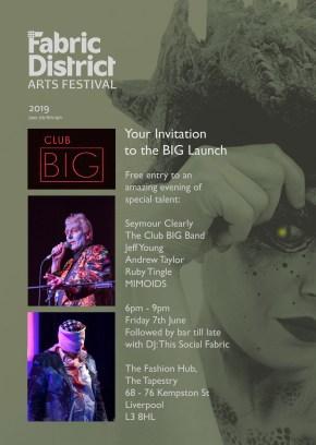 CLUB BIG Fabric District flyer
