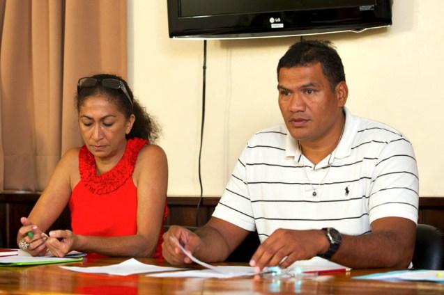 Tauhiti Nena s'oppose une nouvelle fois au vice recteur