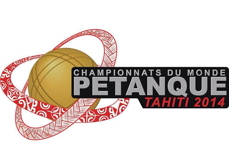 Logo officiel des championnats du monde de pétanque - DR