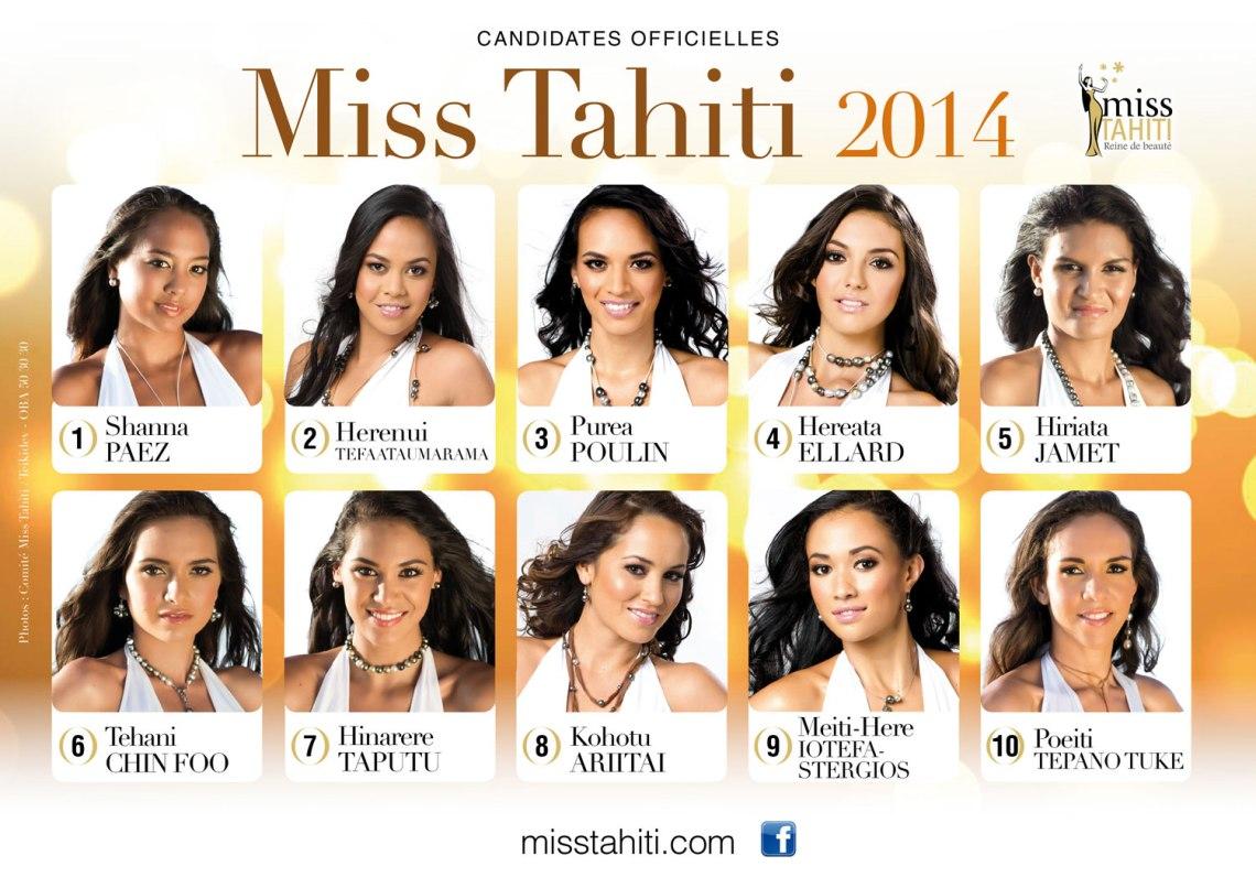 PORTRAIT-DES-CANDIDATES-MISS-TAHITI-2014-FINAL