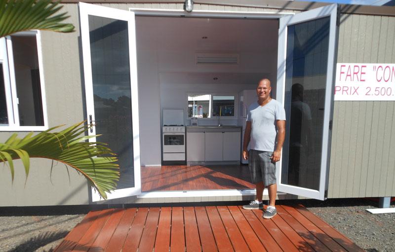 le fare container pour les petits budgets radio1 tahiti. Black Bedroom Furniture Sets. Home Design Ideas