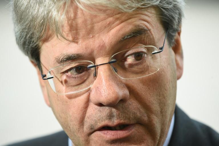 Le chef de la diplomatie italienne Paolo Gentiloni, le 18 avril au Luxembourg. © AFP