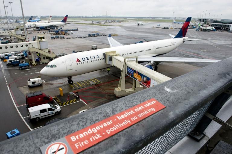 Les vols de Delta Airlines suspendus en raison d'une panne informatique. © AFP