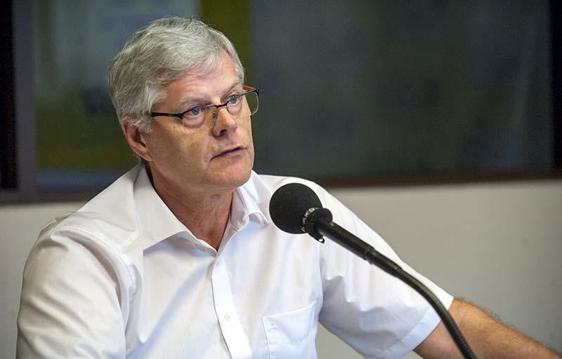 Jacques Mérot, président de l'autorité de la concurrence. © Cédric Valax