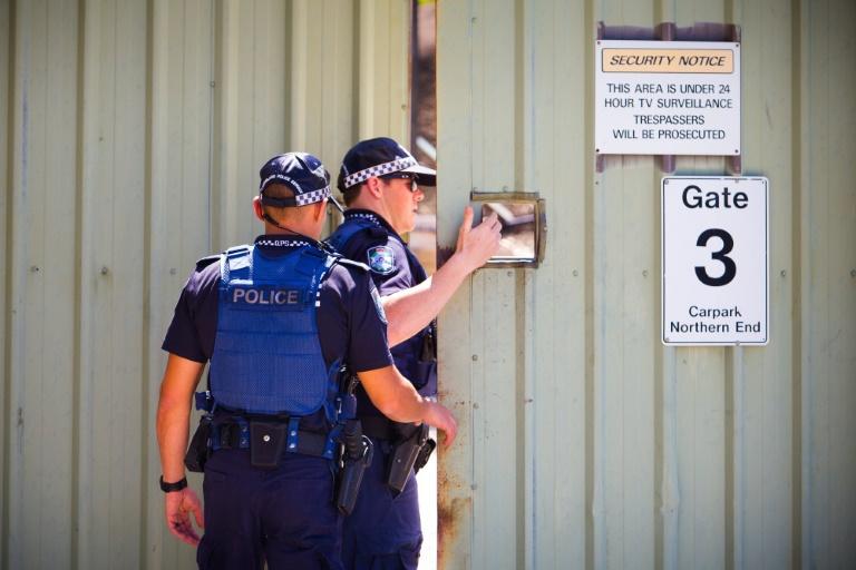 """La police australienne a annoncé vendredi avoir déjoué un """"complot terroriste"""" qui projetait plusieurs attentats le jour de Noël dans le centre de Melbourne. © AFP"""