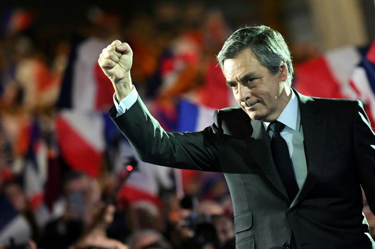 François Fillon, le 29 janvier 2017 à Paris. © AFP