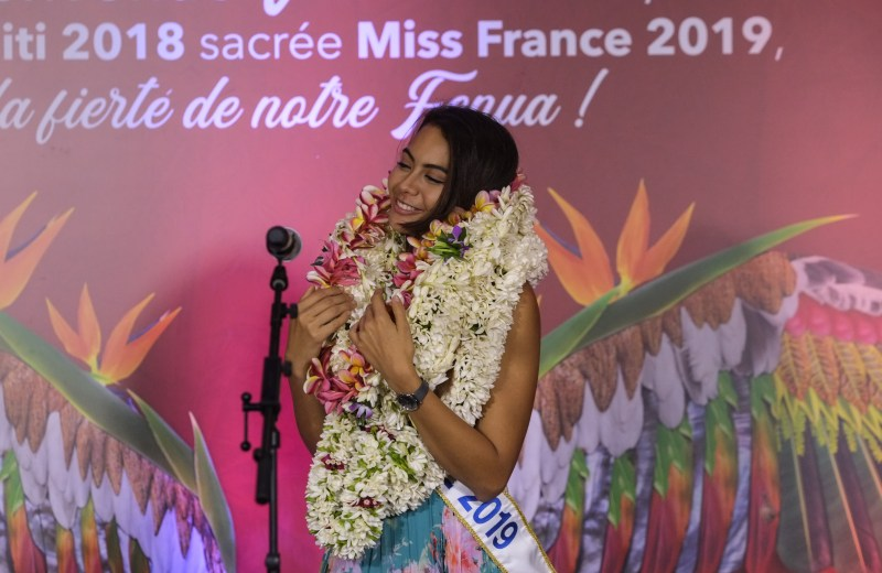 Miss France Vaimalama Chaves