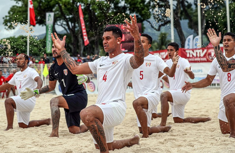 OFC Beach Soccer Nations Cup 2019, Solomon Islands v Tahiti