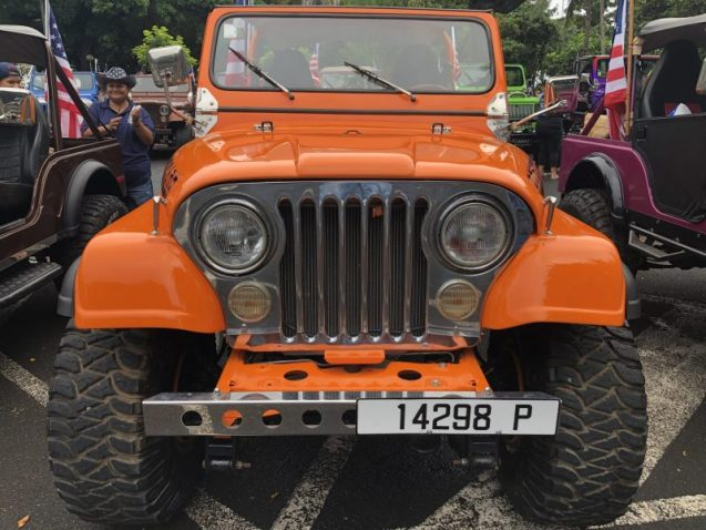 Jeep Tahiti