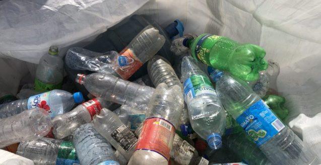 déchets-clean up day-nautisport-bouteilles plastiques
