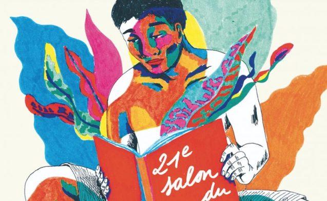 Affiche salon livre Tahiti