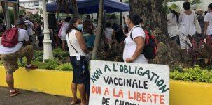 Manifestation contre obligation vaccin
