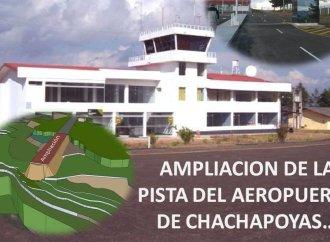 AMPLIACIÓN DEL AEROPUERTO DE CHACHAPOYAS ES INCLUIDO EN EL PLAN MAESTRO DE AEROPUERTOS DEL PERÚ