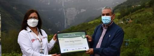 Kuélap y Gocta reciben el reconocimiento top 100 green destination