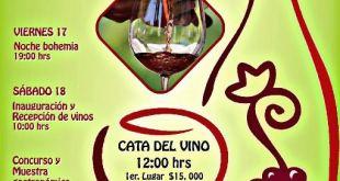 Del 17 al 19 de Noviembre, VII Edición del Festival del Vino en San Miguel de Comondú
