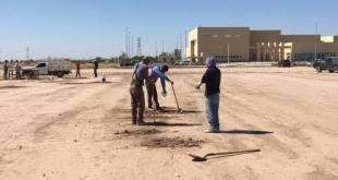 Inicia Ayuntamiento de Comondú Construcción del 1er. Campo de Softbol en el Estado