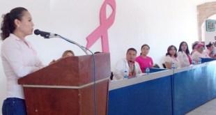 DIF Municipal Conmemora Con Conferencia y Testimonios Día de Lucha Contra Cáncer de Mama