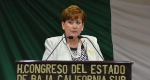 La Diputada Rosa Delia Cota Montaño se declara Independiente en el Congreso del Estado