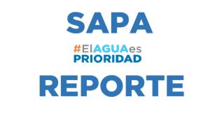 #ElAguaEsPrioridad reporte SAPA, 24 octubre 2017