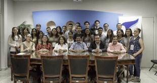 Alcalde de La Paz recibe a integrantes del X Parlamento de la Juventud Sudcaliforniana