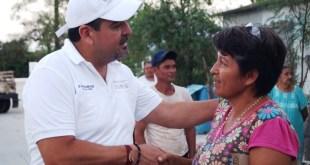 Beneficia gobierno federal a 3 mil familias cabeñas: Valdivia Alvarado