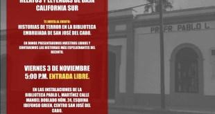 VEN Y ESCUCHA HISTORIAS DE TERROR EN LA BIBLIOTECA PABLO L. MARTÍNEZ
