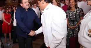 Alcalde de La Paz asiste al Segundo Informe del Gobernador