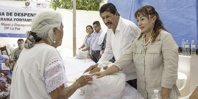 Refuerza DIF Municipal el apoyo para asistencia alimentaria a familias de La Paz
