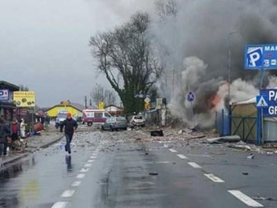 انفجار قنبلتين في مسجد ومركز للمؤتمرات في ألمانيا