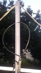 Modification de position de la boucle coaxiale