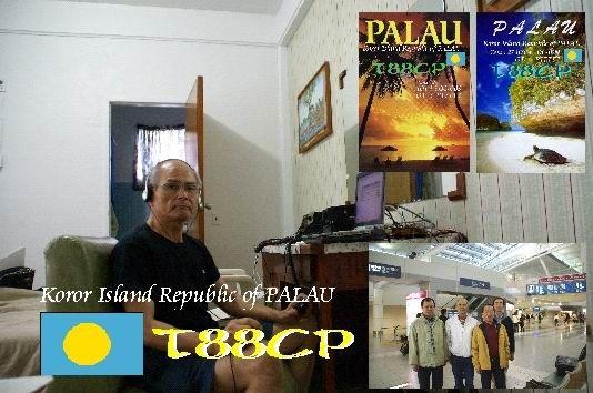 Koror Island Palau T88CP QSL