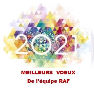 VOEUX 2021 RAF