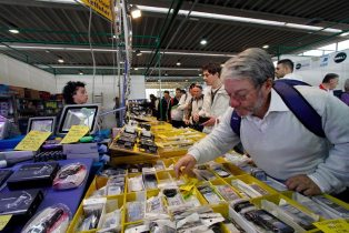 mercato radioamatore 11 314x210 Il grande Market per fare shopping tecnologico in fiera
