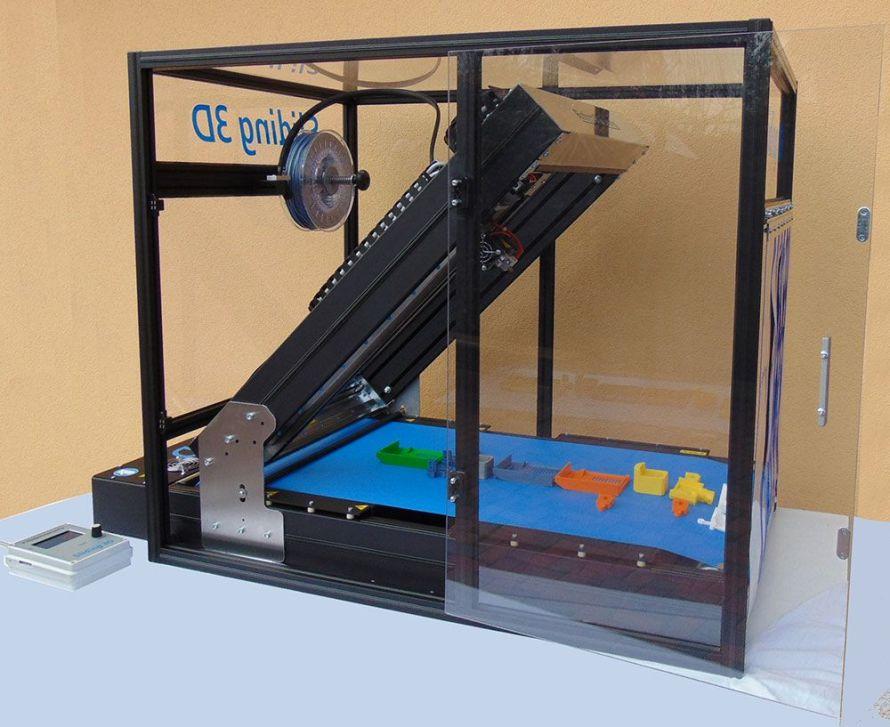 Box 890x727 Robot FactorySliding 3D, linnovativa stampante 3D desktop a Radioamatore
