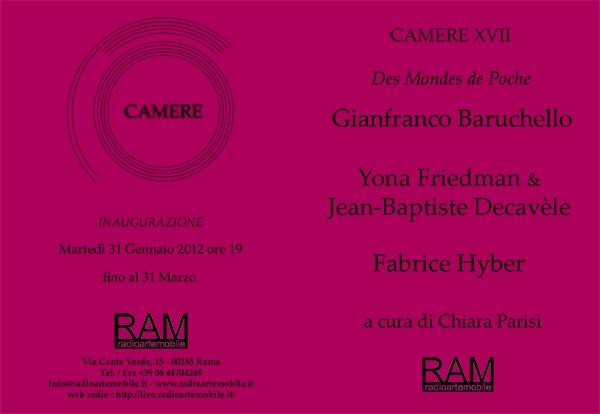 Invitation to Camere XVII