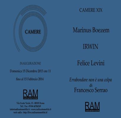 Invitation to Camere XIX