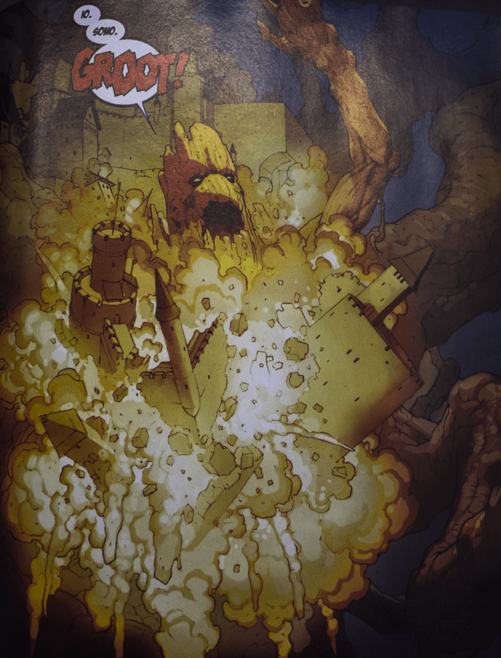Secret Wars #8 groot