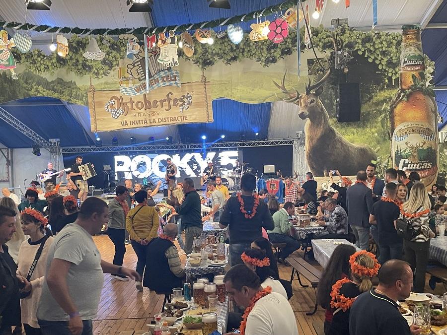 Rocky 5 rockten das Oktoberfest in Kronstadt