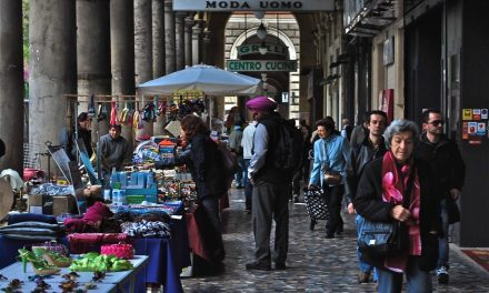 Piazza Vittorio dissanguata