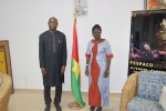 Culture: Paul Kaba Thiéba encourage la ministre Thiombiano