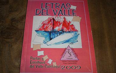 """Libro que fuera presentado este sábado """"Letras del Valle"""""""