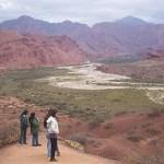 Trabajan en un proyecto turístico ambiental para la Quebrada de las Conchas