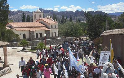 Fiestas patronales en la localidad de Angastaco este fin de semana